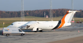 Priority Freight has teamed up with charter airline company Jota Aviation to set up an 'air bridge' between mainland Europe and the UK