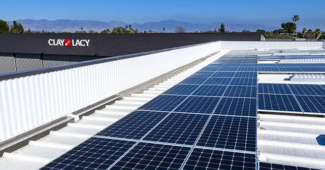 30,000 square feet of solar panels will offset 530 metric tons of CO2, the equivalent of driving 1.3 million miles in an average car