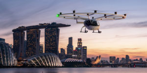 One of the first cities Volocopter plans to operate in is Singapore