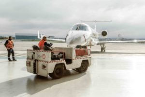 The company's safety policy aims for zero incidents everywhere from offices to ramp operations