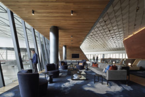 The Jet Base's terminal has been designed to offer opulent and relaxing surroundings for high net worth travelers