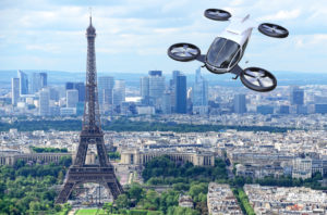 Paris is taking steps to establish an urban air mobility infrastructure in the city before the 2024 Olympics