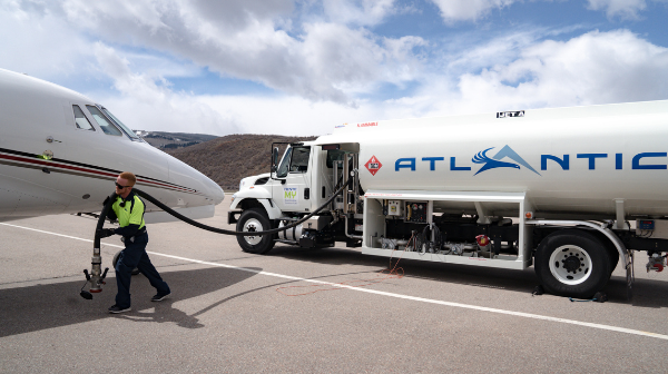 Atlantic Aviation has announced the availability of Sustainable Aviation Fuel (SAF) at its Aspen, Colorado Airport fixed base operation