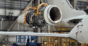 The maintenance, repair and overhaul station of the Hong Kong-based Metrojet has recently completed its first 6C inspection on a Gulfstream G650 aircraft