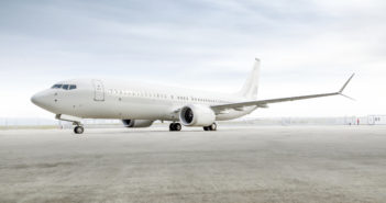 Jet Aviation has redelivered the first-ever VVIP cabin interior completed on a BBJ 737-8