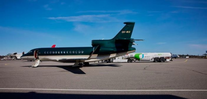 Neste and Jetflite to offer lower-emission private business flights