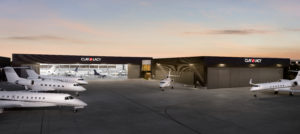 Clay Lacy was awarded the lease to operate an FBO at California's John Wayne Airport last September