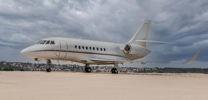 DC Aviation has added a Falcon 2000LXS to its fleet