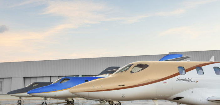 Honda Aircraft Company will showcase the upgraded HondaJet Elite S with a special paint scheme at the 2021 Experimental Aircraft Association's (EAA) AirVenture in Oshkosh, Wisconsin