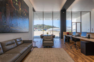 The HADID RIviera FBO features all the facilities required by crew