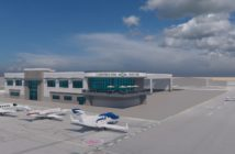 Cunningham Aviation's new full service FBO design plan coming early 2024 to Falcon Field Airport in Mesa, Arizona