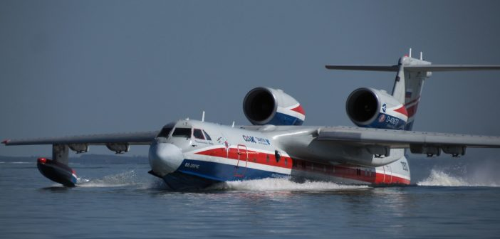 The Russian Be-200 amphibious aircraft has successfully completed extensive firefighting operation in Greece
