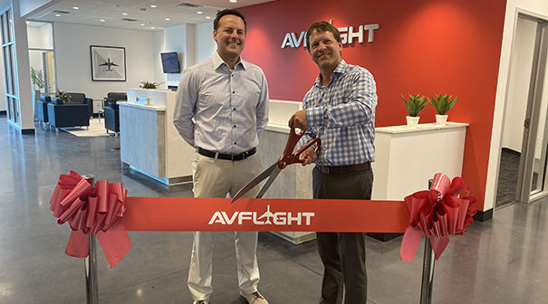 Avflight Corporation has opened its new facility at Falcon Field Airport in Mesa, Arizona. The development includes a 5,000 square foot FBO terminal