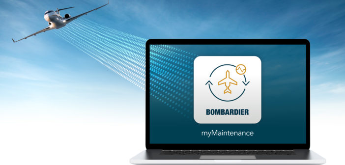 Bombardier has launched its new myMaintenance App, an exclusive tool to support customers subscribed to the Smart Link Plus connected aircraft program