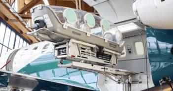 Together with its development partner, Aerolite AG, Pilatus now offers integration of the EpiShuttle in medevac PC-24s. Photo: Pilatus Aircraft Ltd