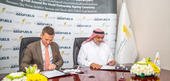 AEG Fuels and Sky Prime Aviation Services have entered a strategic partnership to provide global fuel and trip planning services