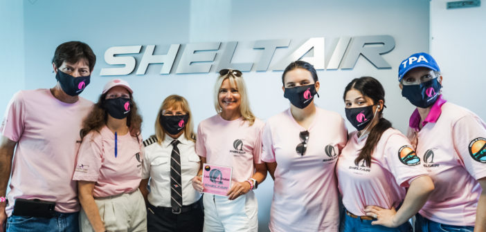 Sheltair Aviation, in partnership with Women in Aviation International, celebrated 2021 Girls in Aviation Day to educate and empower young women